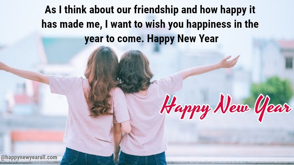 new year text message for friends