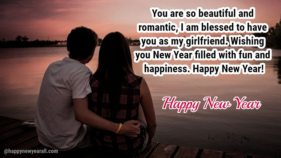 Romantic New Year Message for Girlfriend