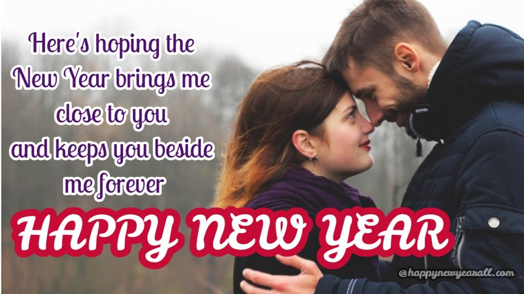 New Year Wishes for my lover