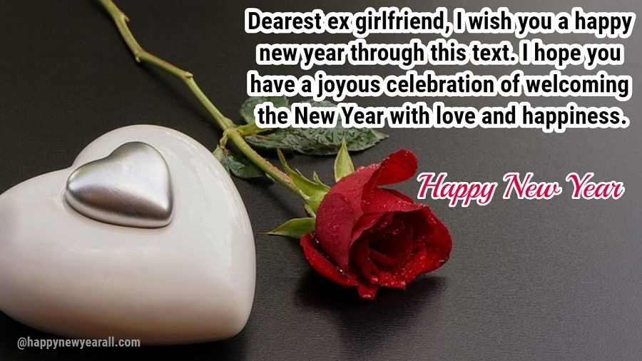 New Year Wishes for Ex Girlfriend