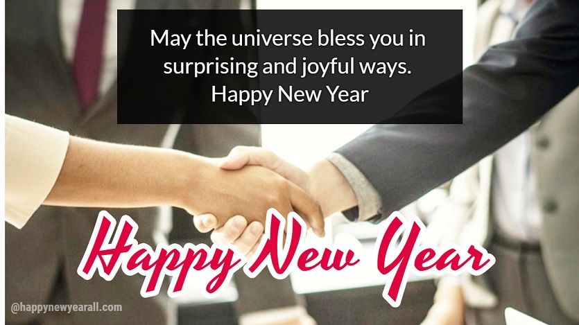 new year formal wishes