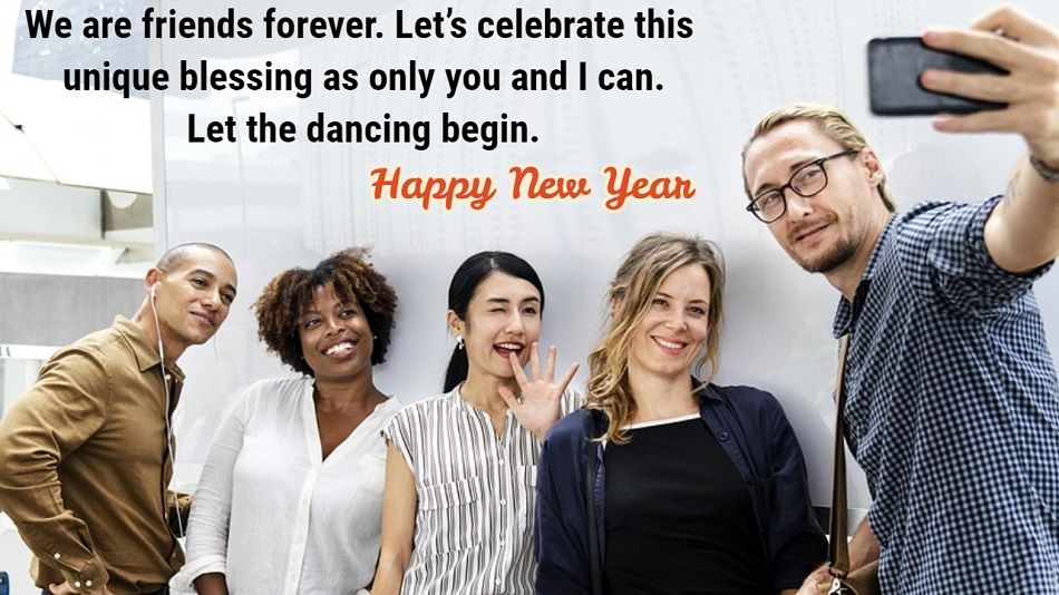 New Year Quotes for Best Friends
