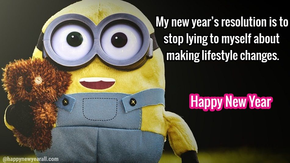 Funny Happy New Year Resolutions Quotes
