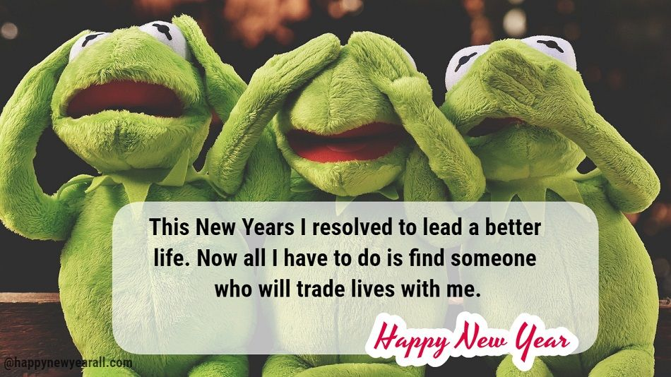 Humorous New Year Quotes and Sayings