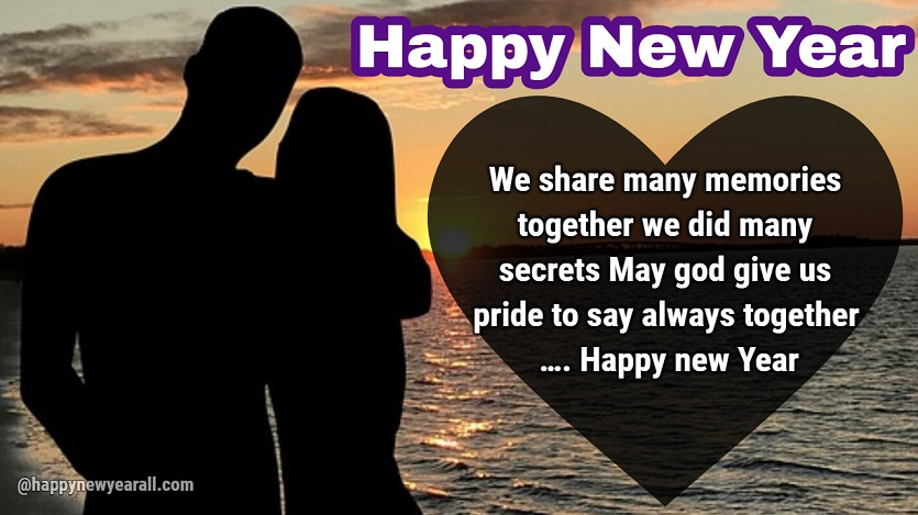 New Year Greetings for Wife