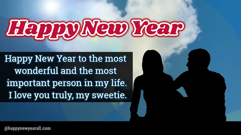 Wishes for Girlfriend on New Year