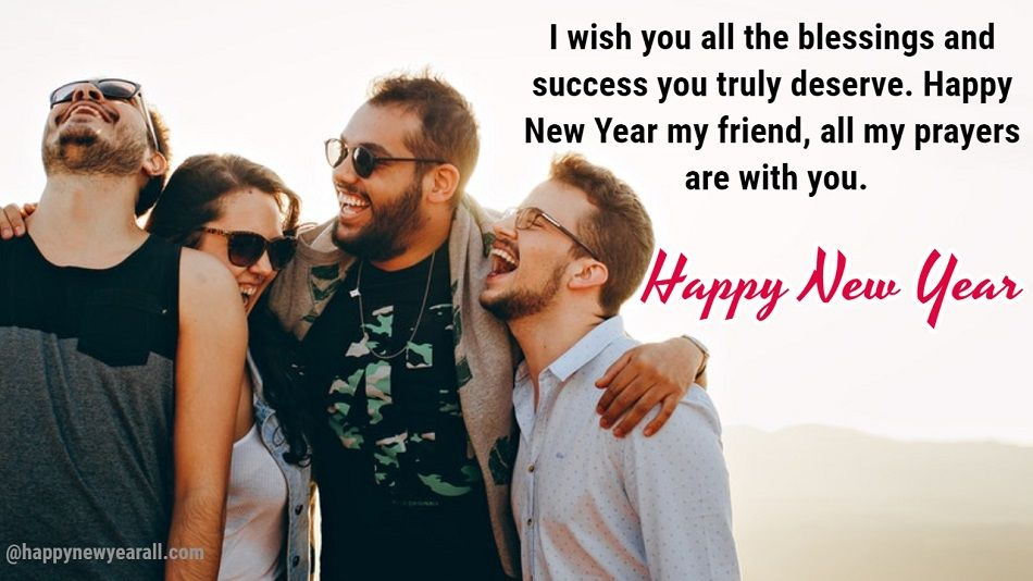New Year Message for Friends