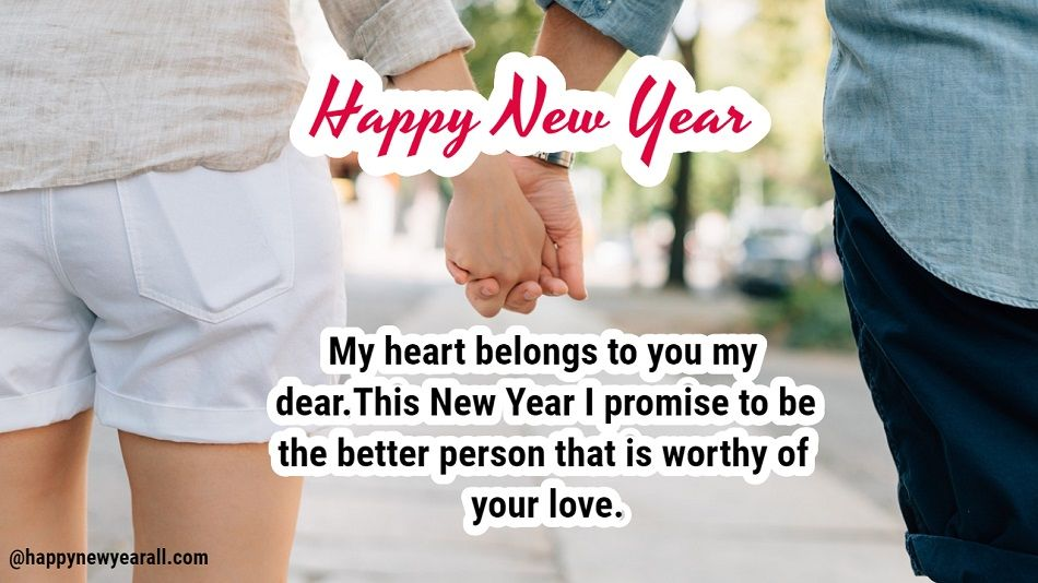 New Year Message for Girlfriend