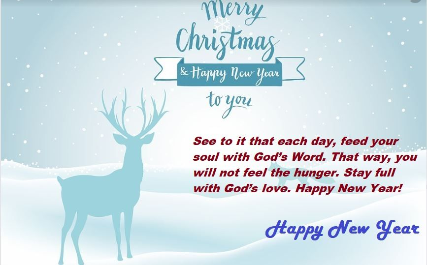Happy New Year Messages for Christian - Happy New Year 2019