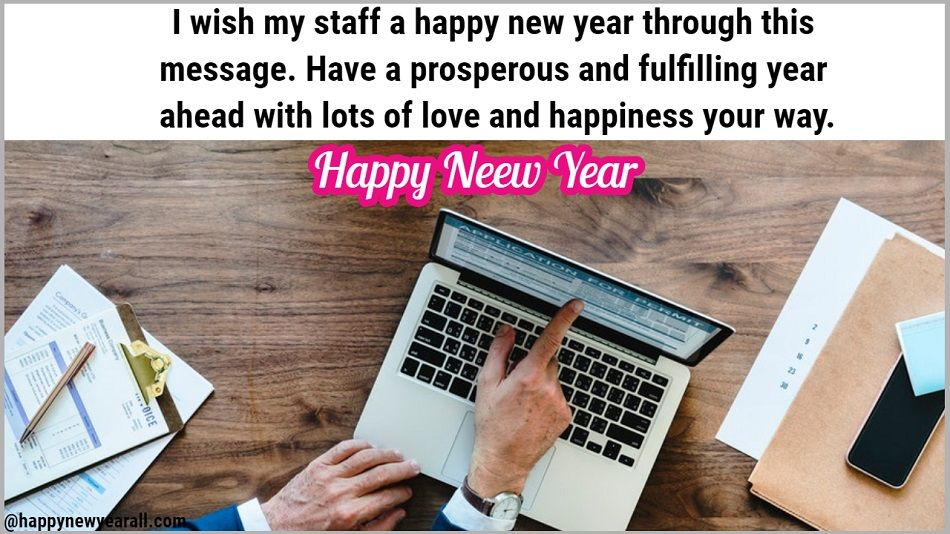 New Year Messages for Colleagues