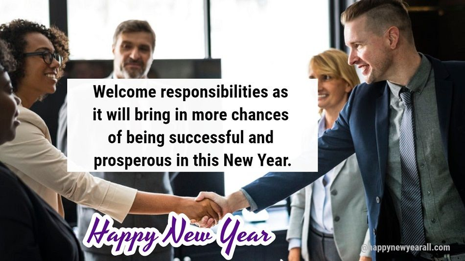 New Year Message from CEO to Employees