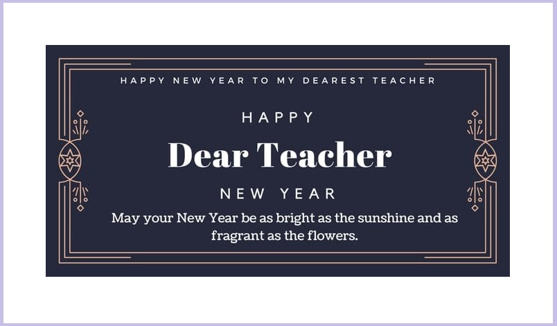 Happy New Year Quotes for Teachers