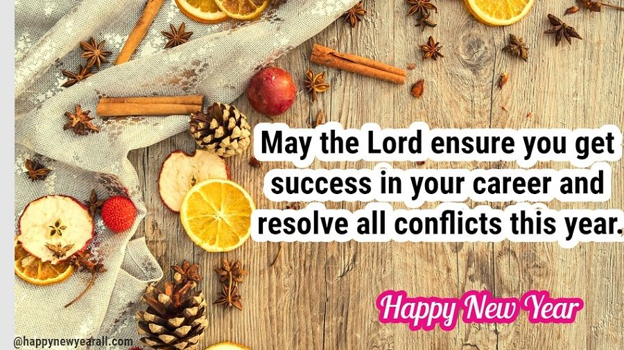 New Year Wishes for Christian