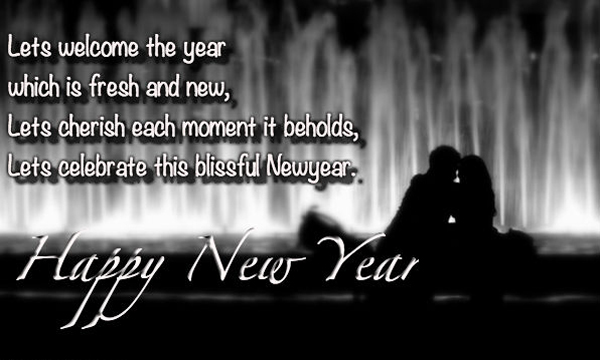 Happy New Year Wishes Greetings For New Couples