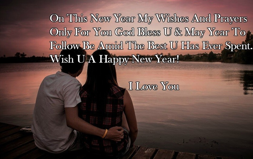 romantic new year wishes 2019 for boyfriend