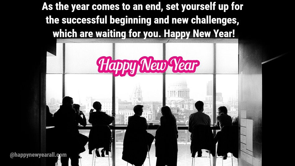 happy new year wishes for business partner
