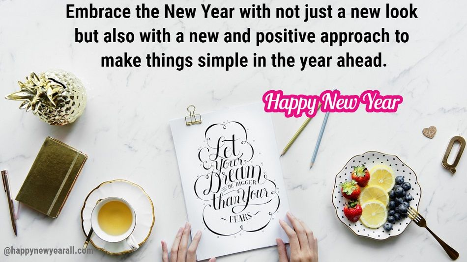 Inspirational Quotes on New year