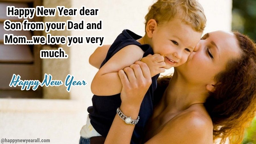 New Year Wishes to Son