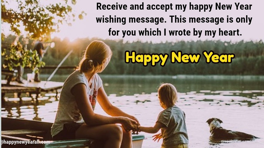Wishes on new year for my Daughter