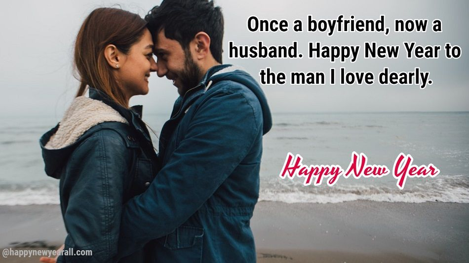 New Year Greetings for Husband