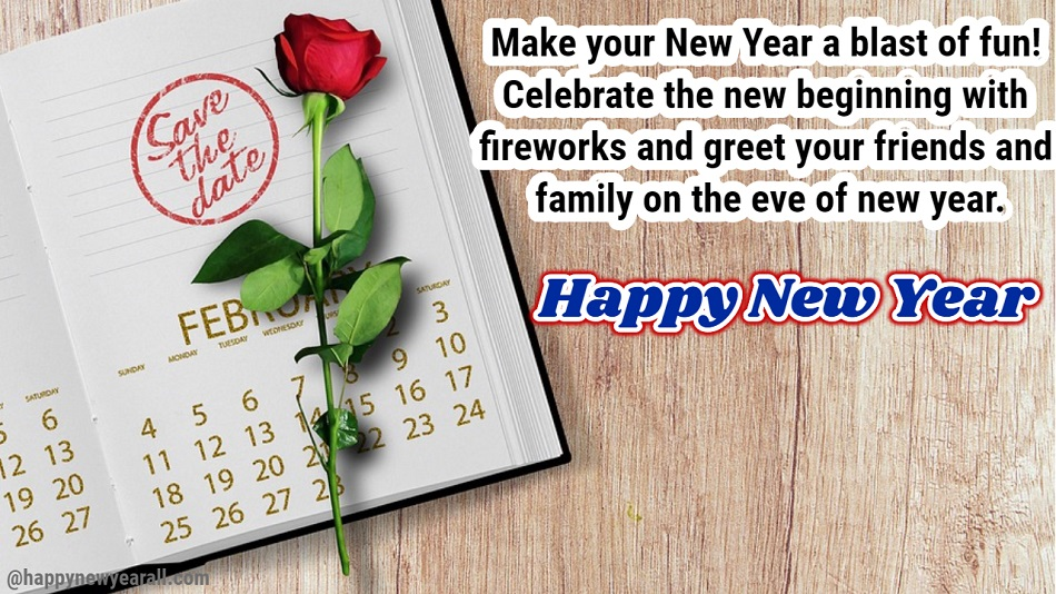 Happy Year Message for Friends and Family