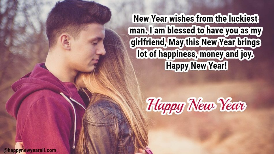 Best New Year Message for Girlfriend