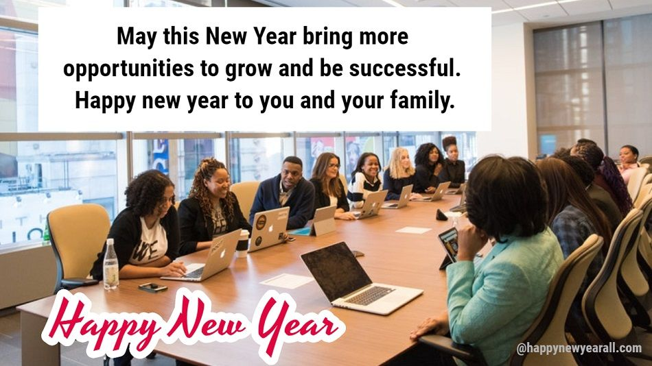 Happy New Year Messages to Employees from CEO