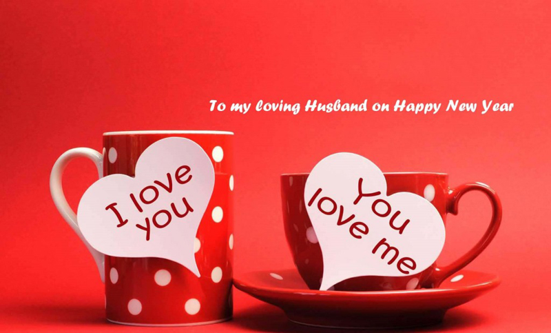 Romantic New year Messages for Husband