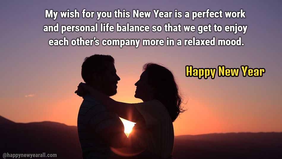 Happy New Year Messages for Husband - Happy New Year 2019