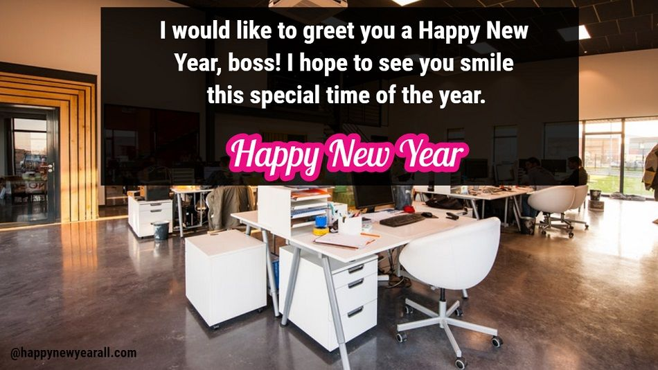 New Year Messages to Boss
