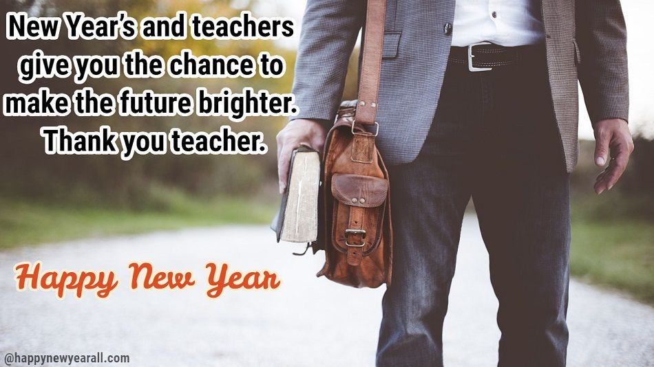 New Year Quotes for Teacher