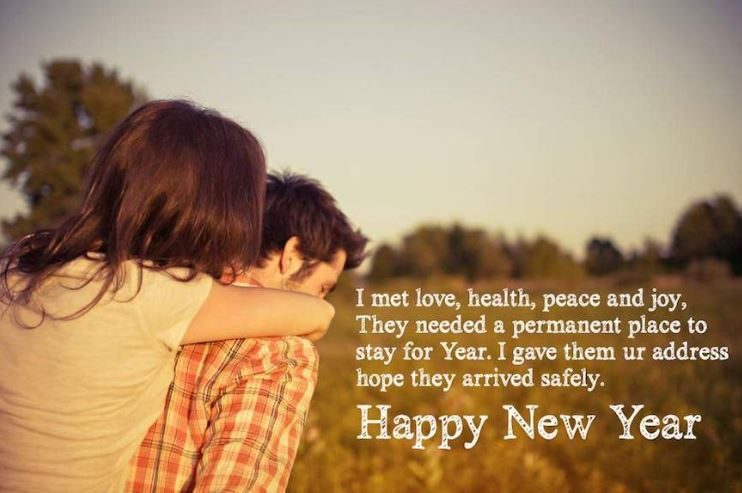 Happy New Year Wishes for Girlfriend - Happy New Year 2019
