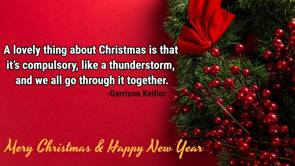 New Year and Christmas Wishes Quotes