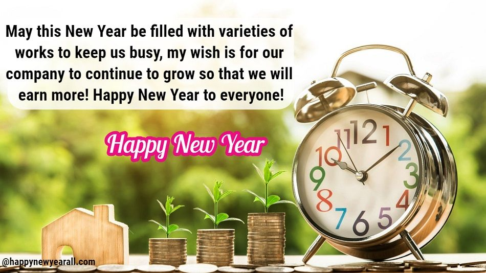 New Year Wishes Quotes for Business
