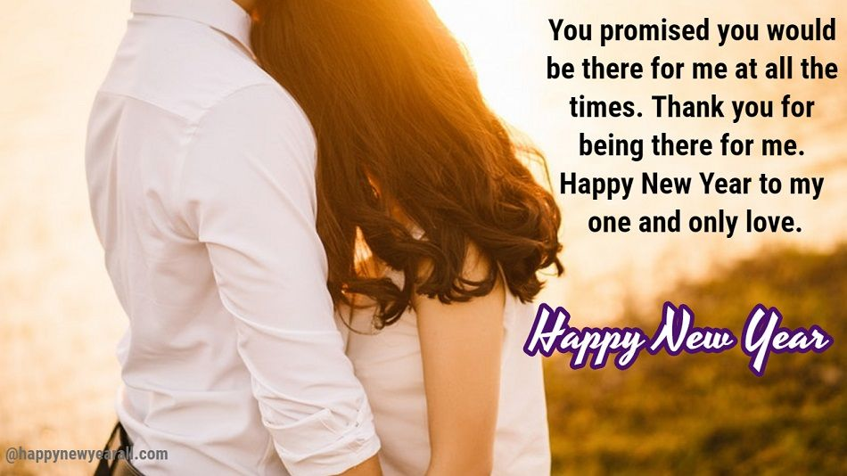Romantic Happy New Year Messages for Wife