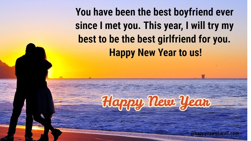 Happy New Year Message for Girlfriend