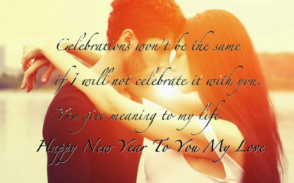Happy New Year Wishes for Boyfriend in English