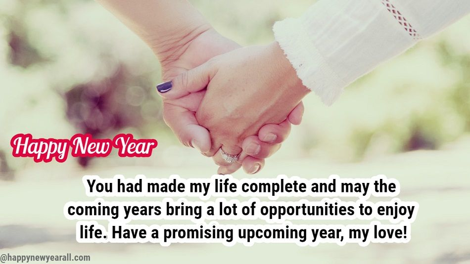 new year romantic wishes for husband
