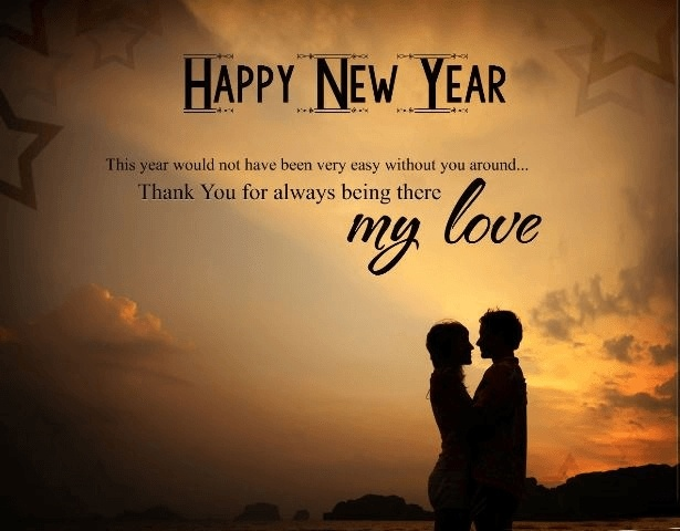 Best new year wishes for lover