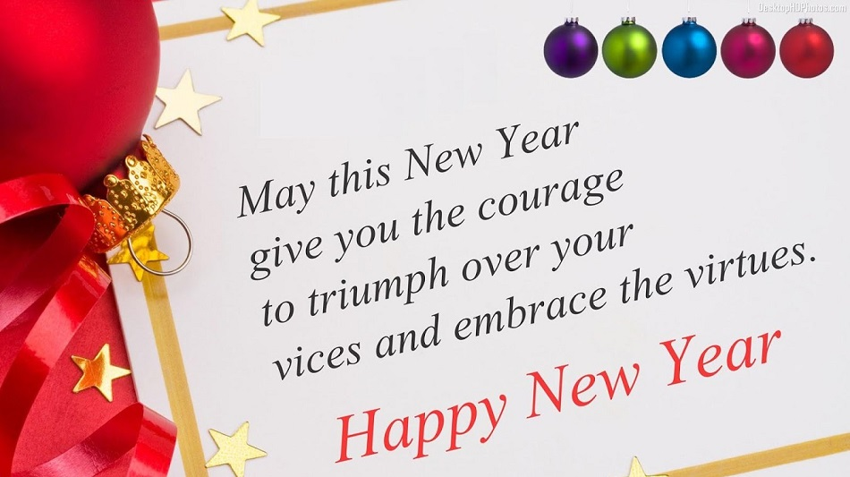New Year Wishes Message for Colleagues