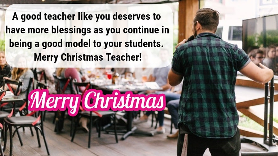 Christmas Wishes for Teachers