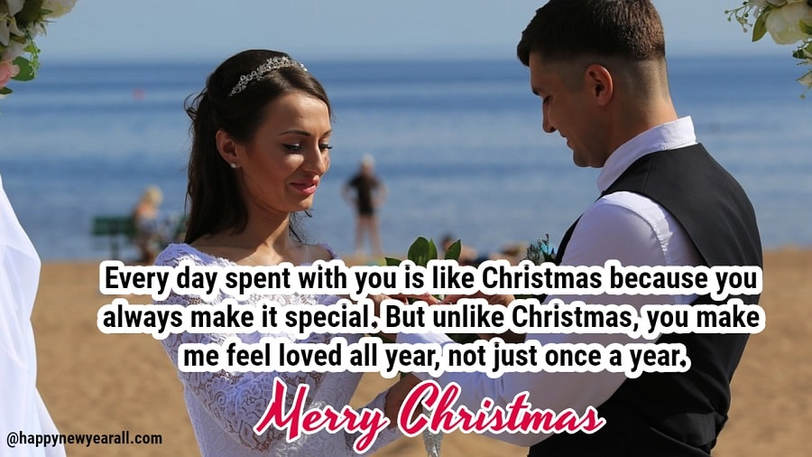 Merry Christmas Wishes Messages for Husband
