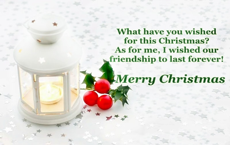 Merry Christmas Wishes Messages for Friends