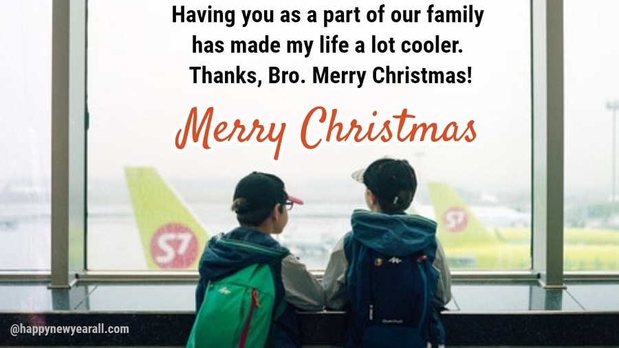 Christmas Wishes for Brother 2018