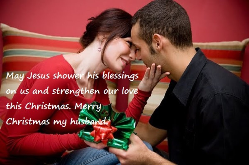 Christmas Wishes to Husband