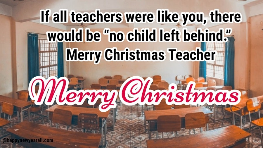 Christmas Messages for Teachers 2018