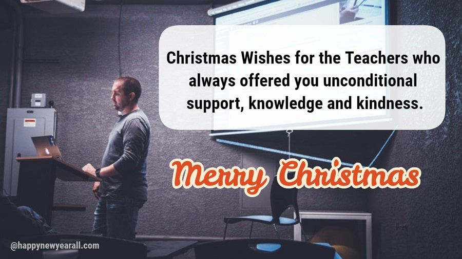 Christmas Messages Wishes For Teachers