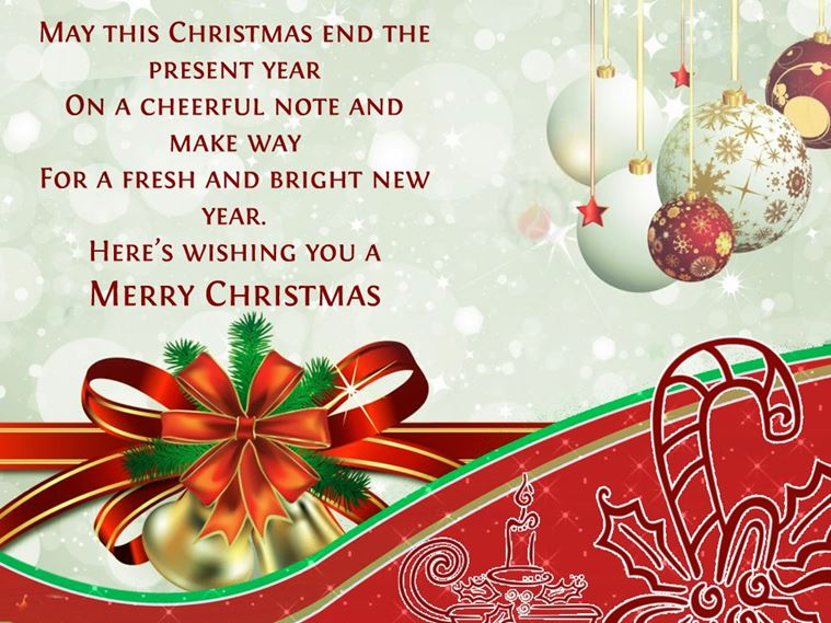 merry christmas greetings for clients