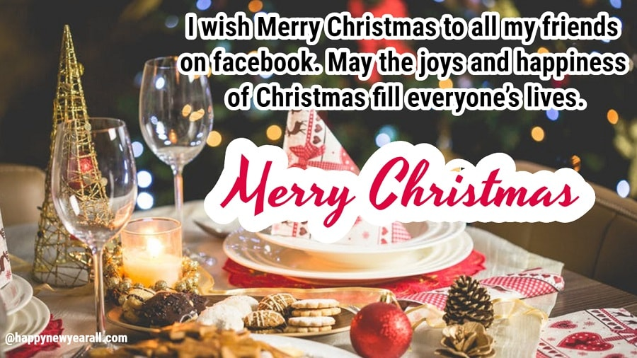 Happy Merry Christmas Messages Greetings Wishes for Facebook Posts ...