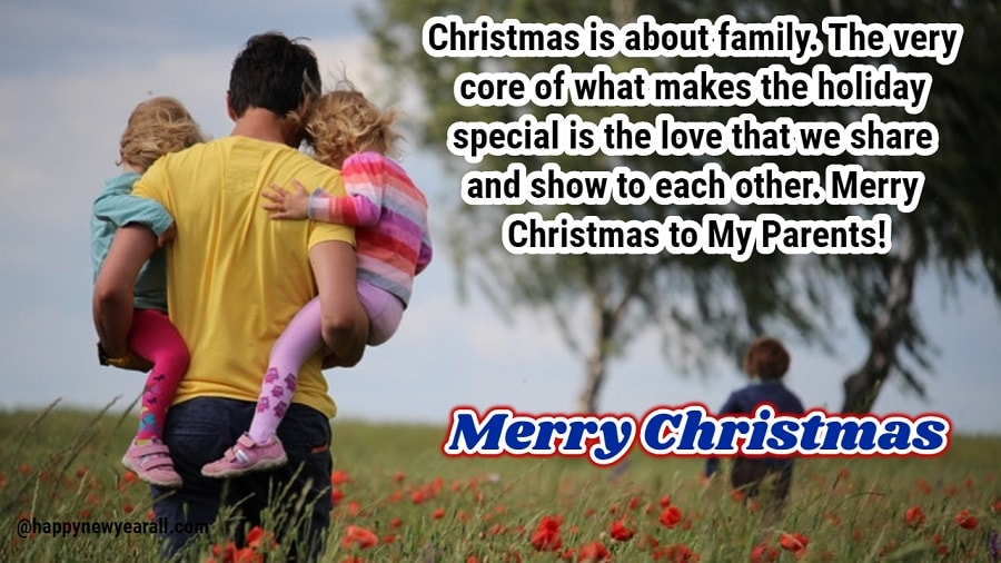 Christmas 2018 Messages for Parents